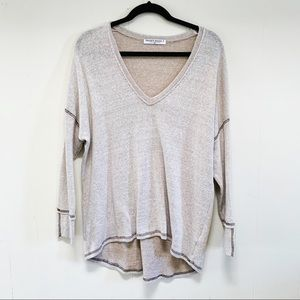 Project Social T long sleeve knit top size small